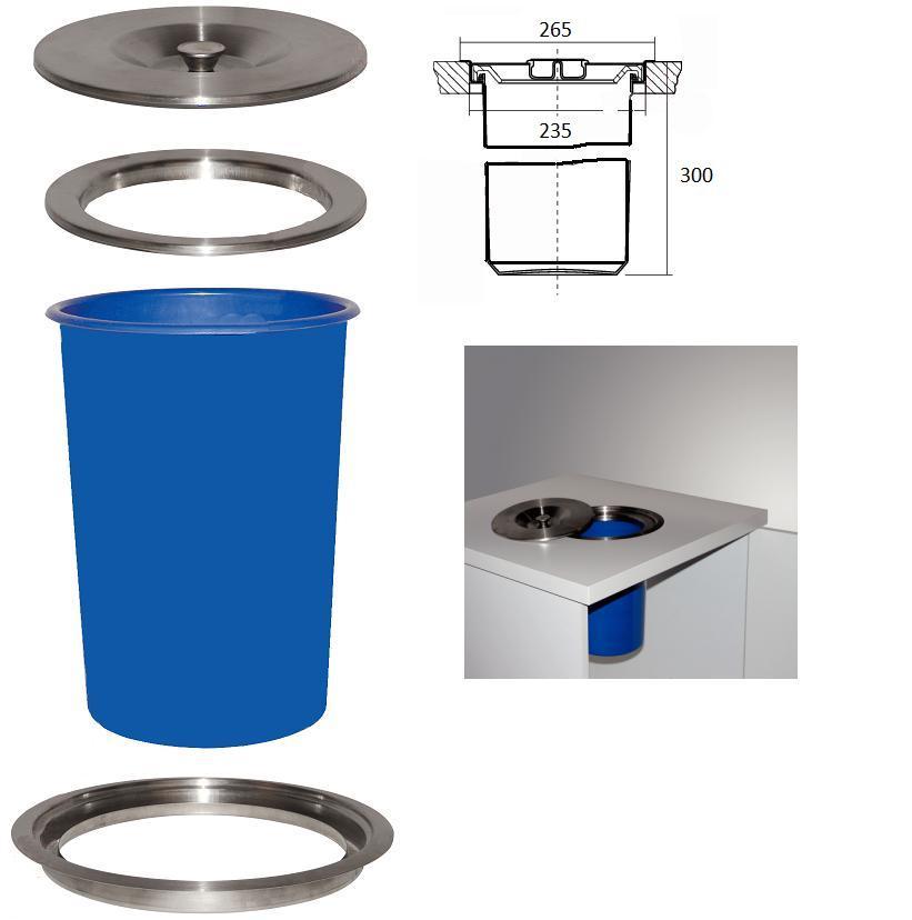 Gamma Keuken Inbouw : Afvalbak Keuken Inbouw Hailo bigbox touch afvalbak kopen