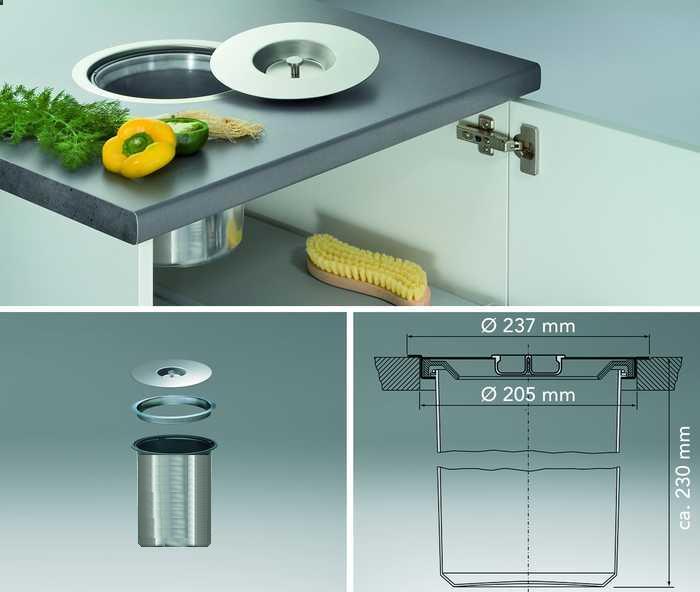 Afvalbak Keuken Inbouw : Keukens – keuken advies – montage – inbouwapparatuur – accessoires