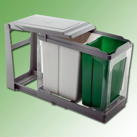 Top Afvalemmer - inbouw - afvalemmers - Afvalemmer kast 30 cm - Draaideur MT63